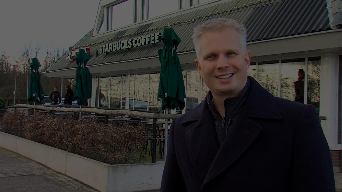 Ronald Lourens deelt visie voor Starbucks